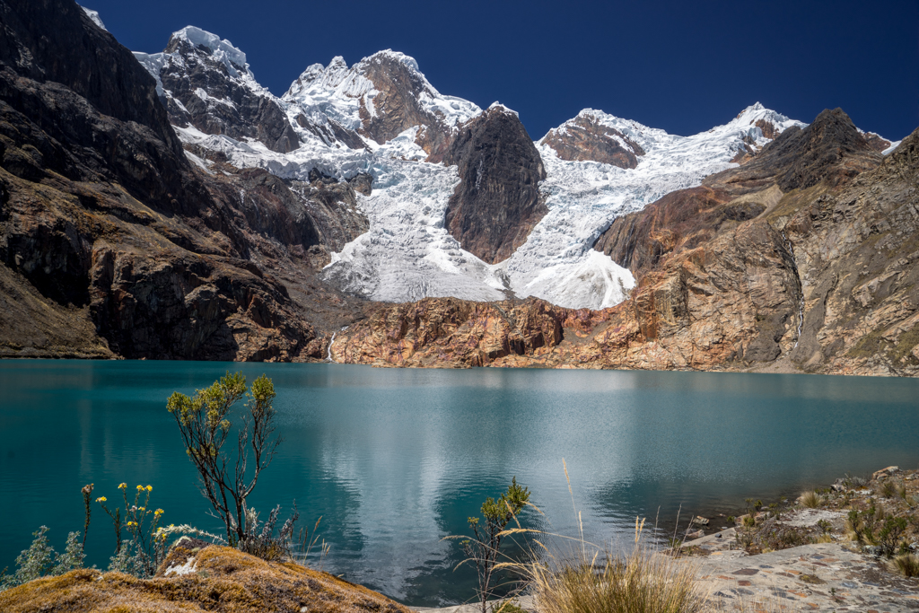 Pucacocha Lake at 4512m