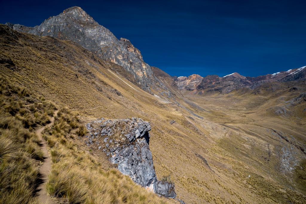Mesapata Pass at 4460m