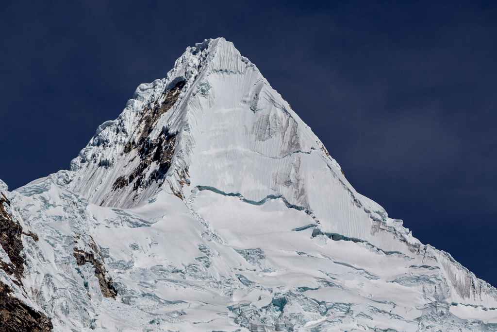 The perfect pyramid of Alpamayo