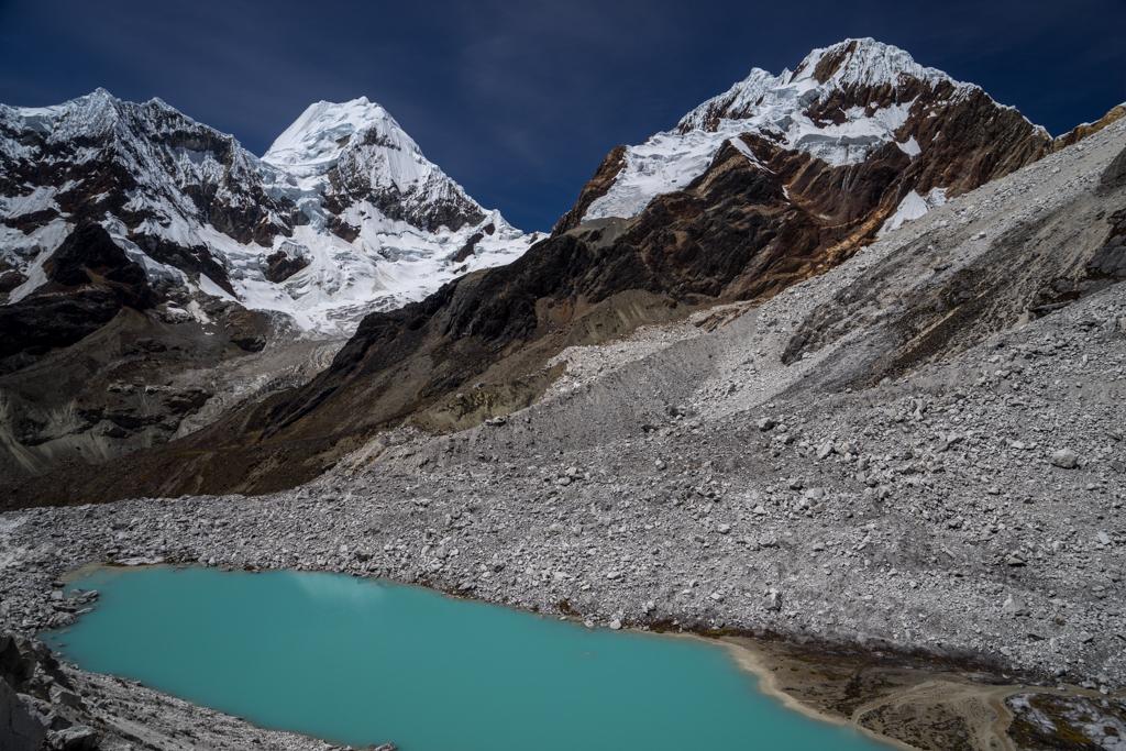 Mountain lake at 4600m