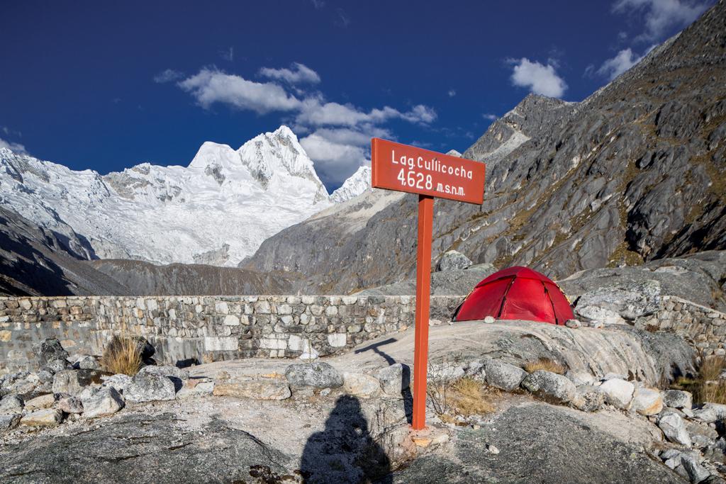 High camp in thin air