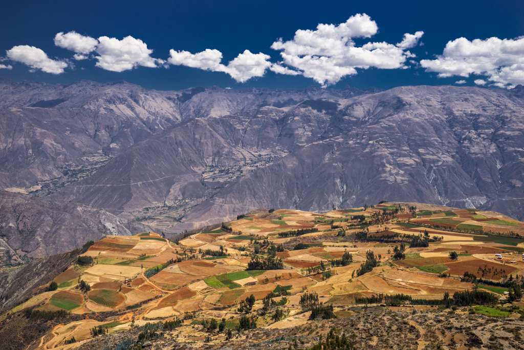 Colorful fields of Hualcayan