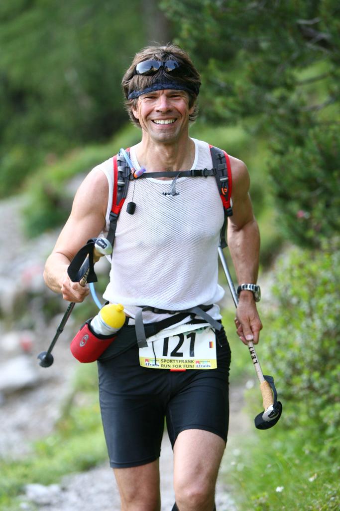 Frank at 4-Trails Run