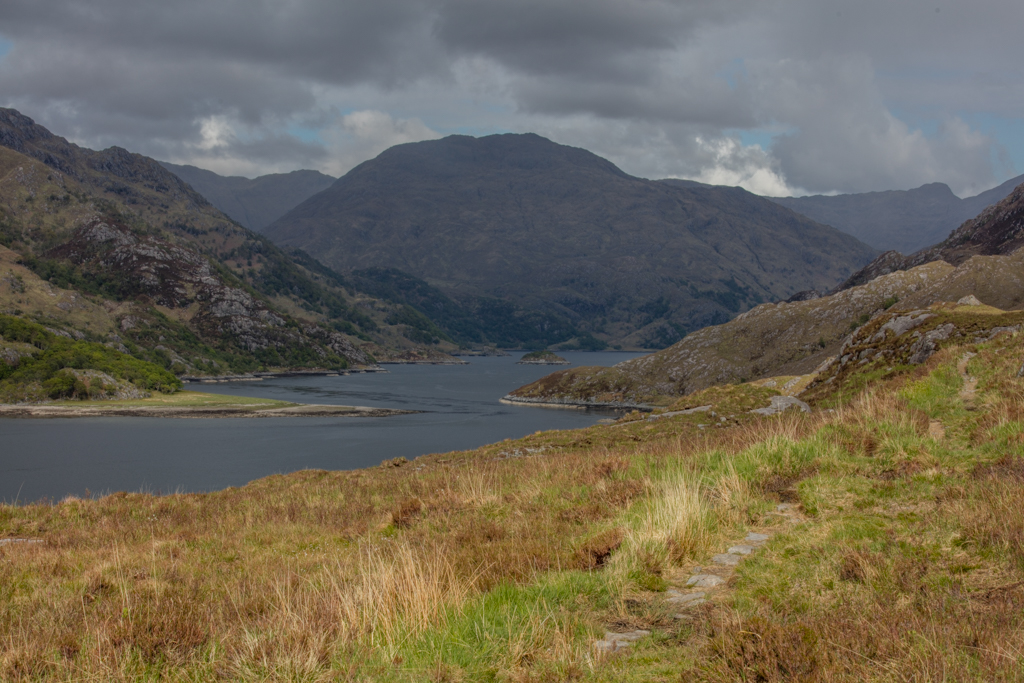Day 2: Glenfinnan to Kinloch Hourn (57km)