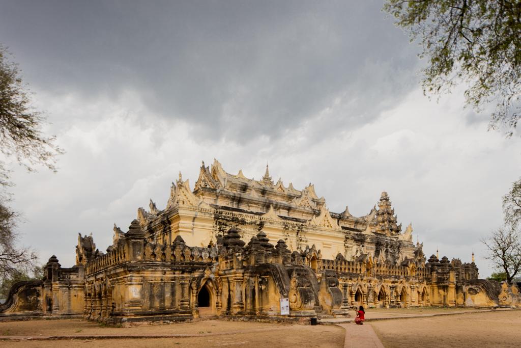 The palace in Inwa
