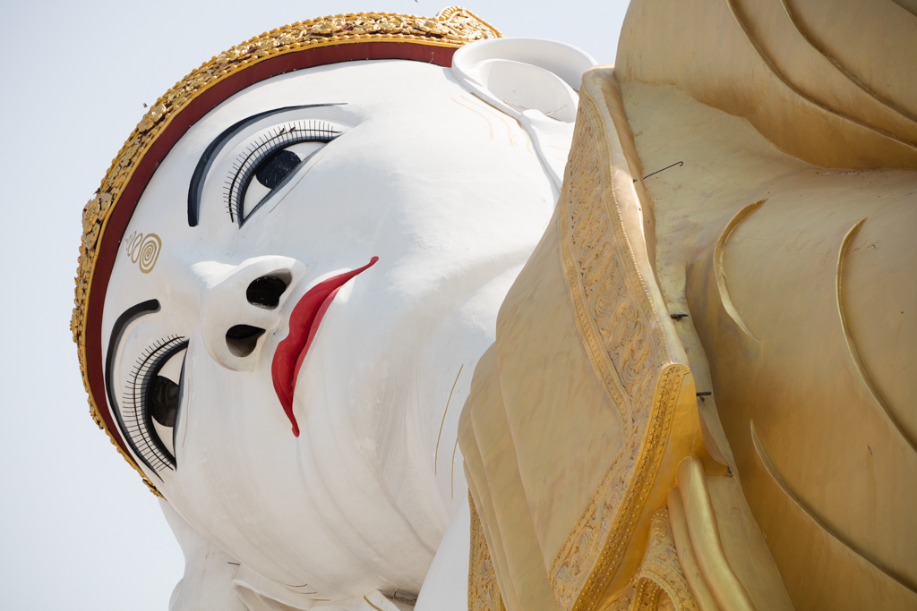 Huge Buddha in Monywa