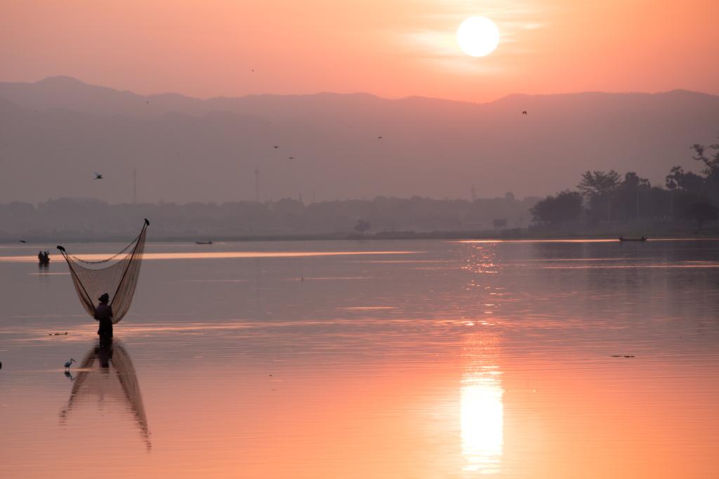 Fisherman at Amarapura
