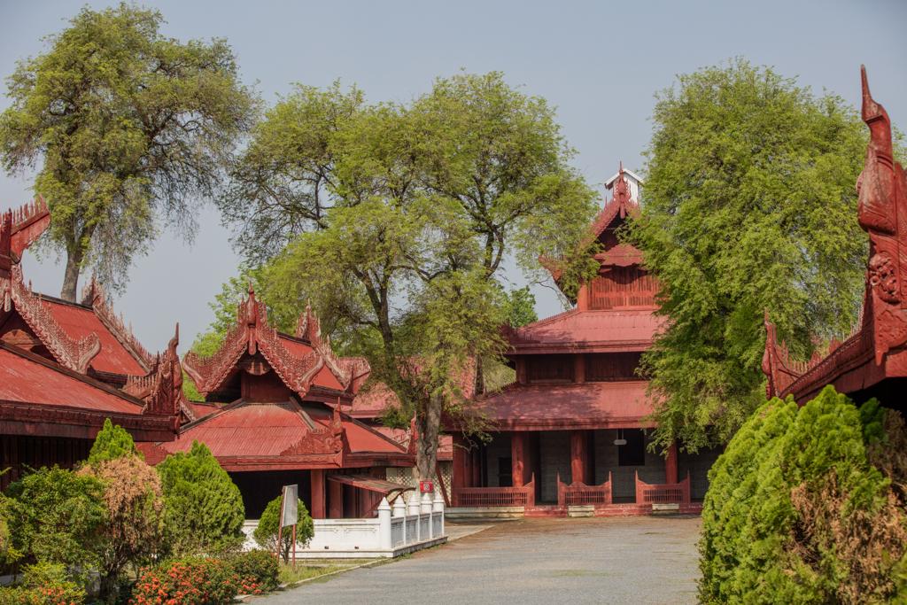 Monastery close to Mandalay hill