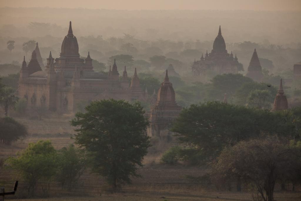 Before sunrise in Bagan