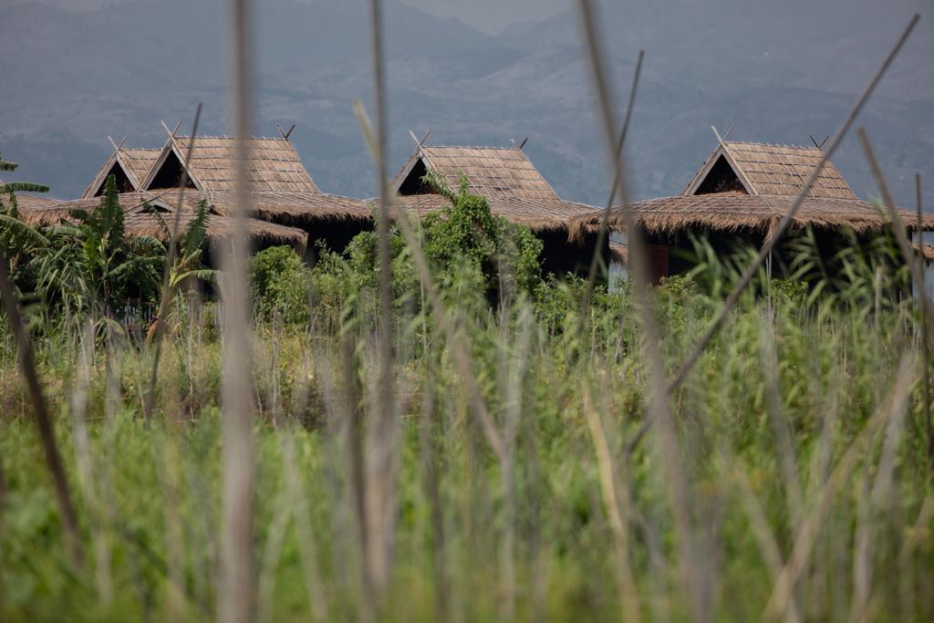 Stilt houses near Inle Lake