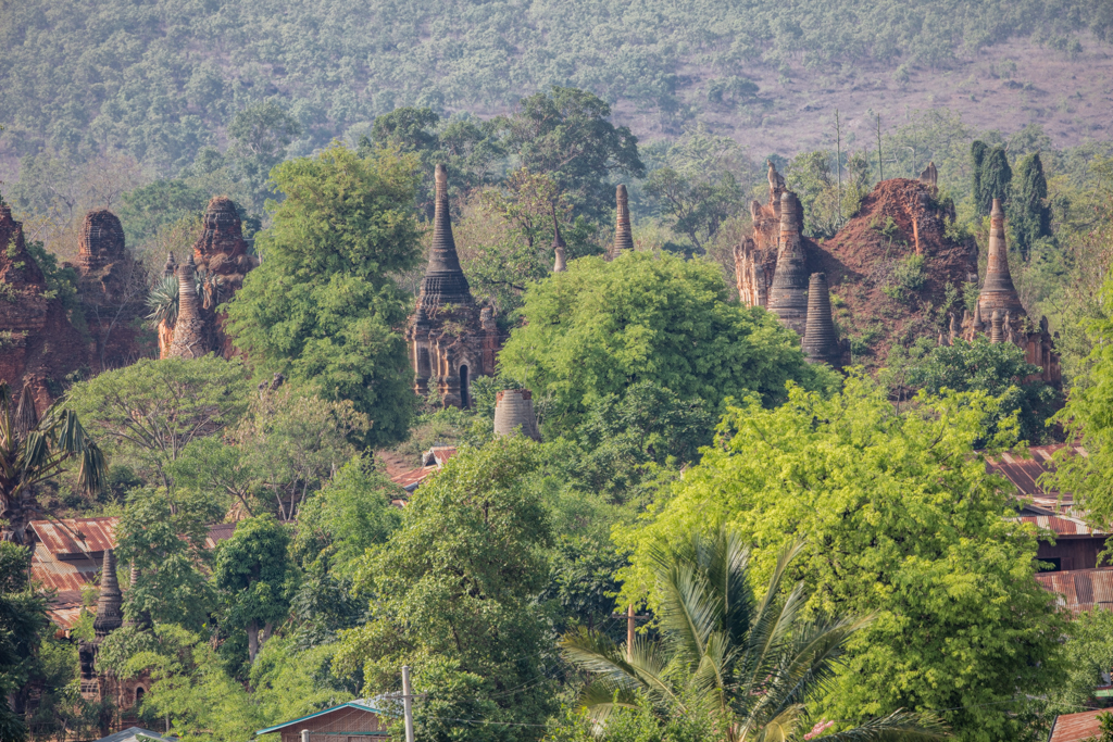 Ruins close to Indein