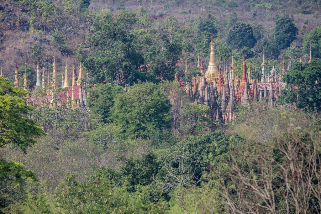 Pagodas of Indein