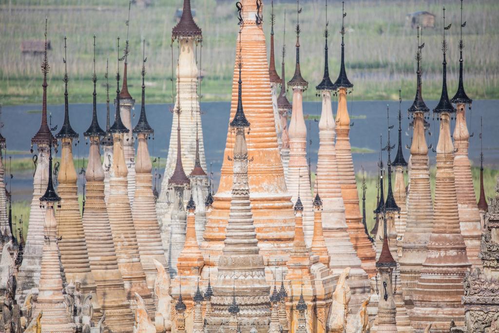 Pagodas in Sankar