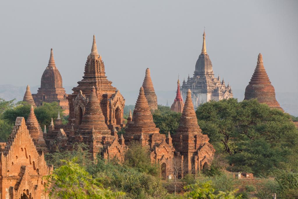 Early morning in Bagan