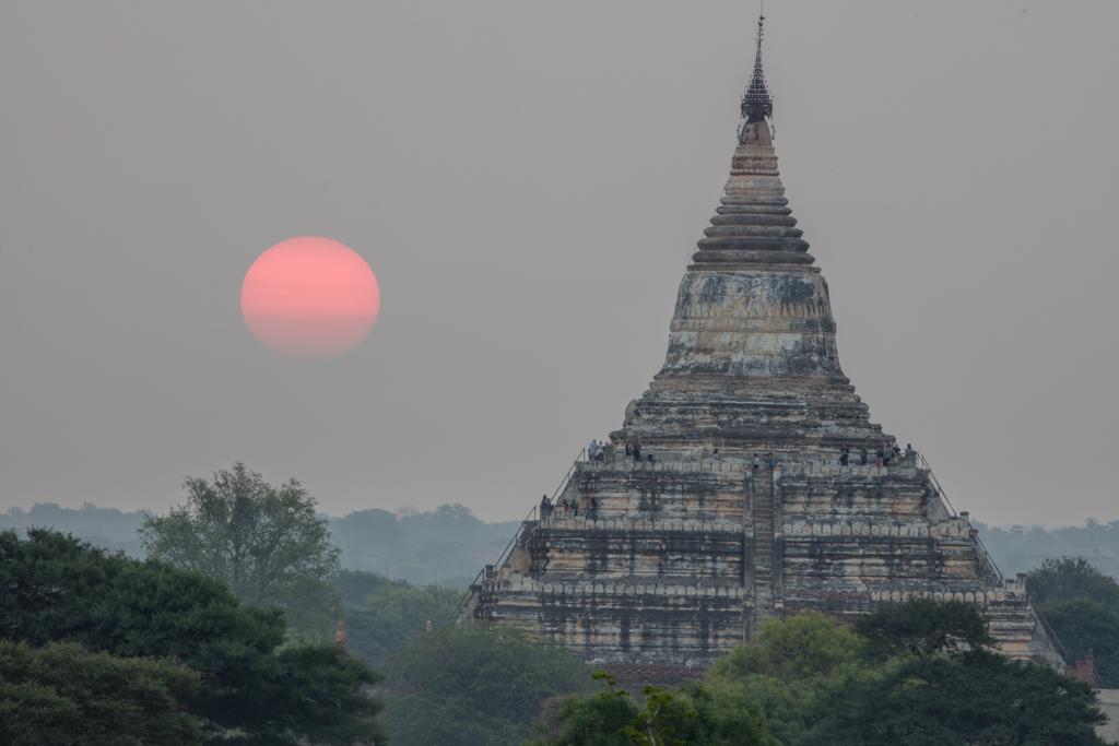 Sulamani temple at sunrise