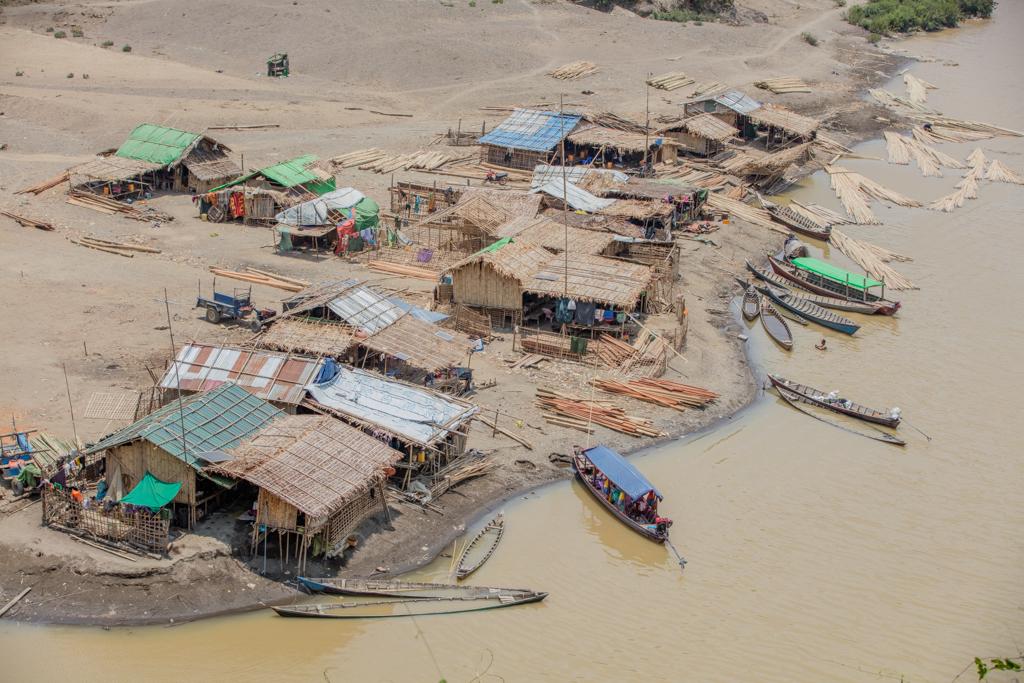 Village in Shin state