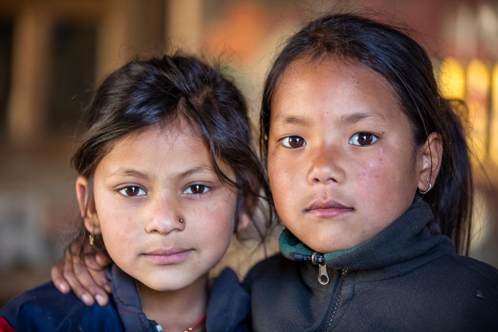 Children in Bhandar