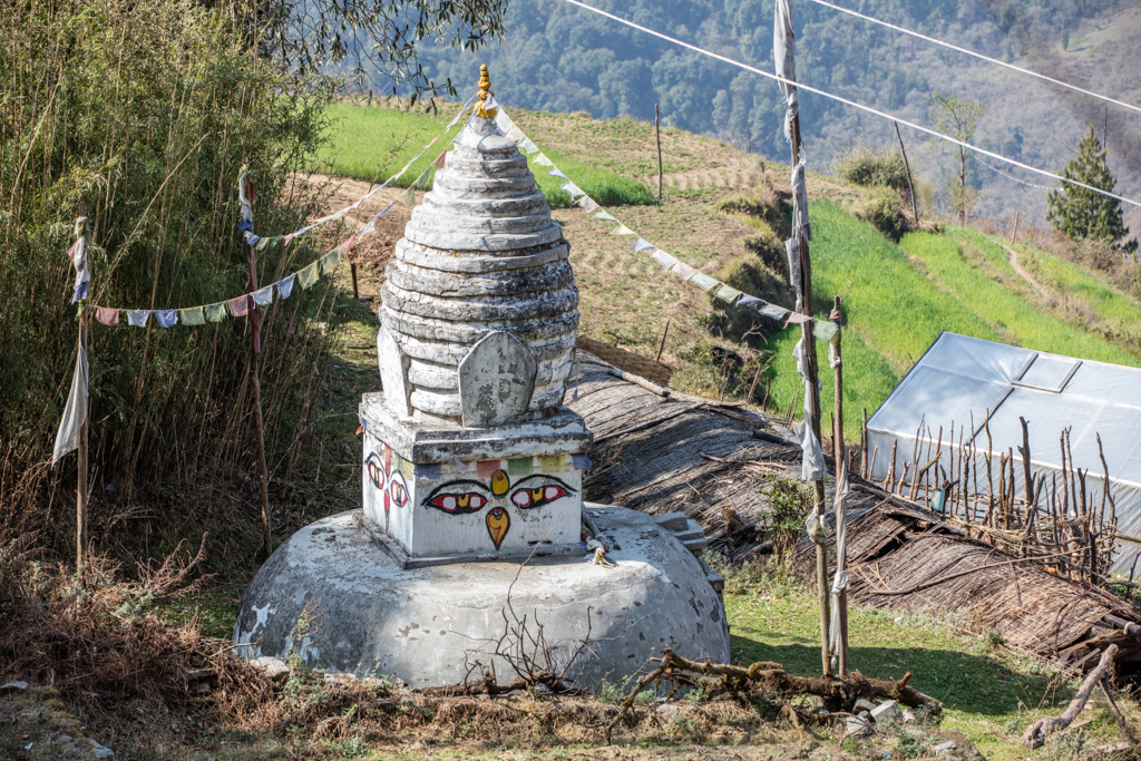 Stupa in Sete