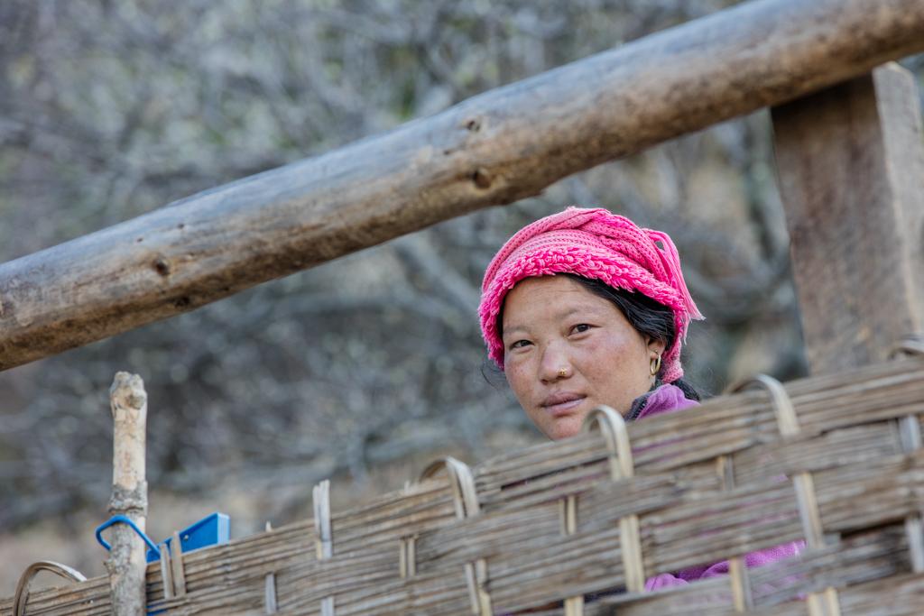Woman in Junbesi
