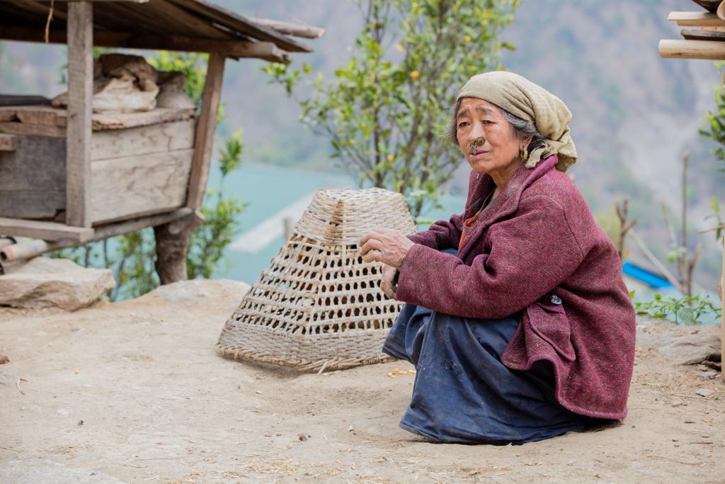 Rai woman in Jubhing