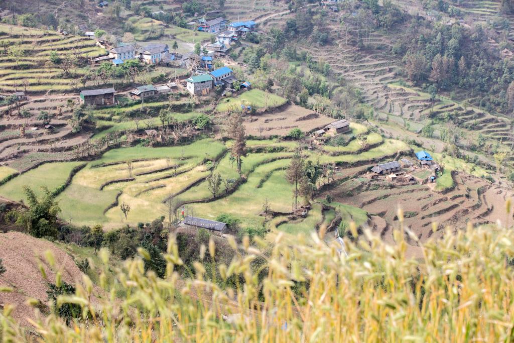 View back to Kharikhola