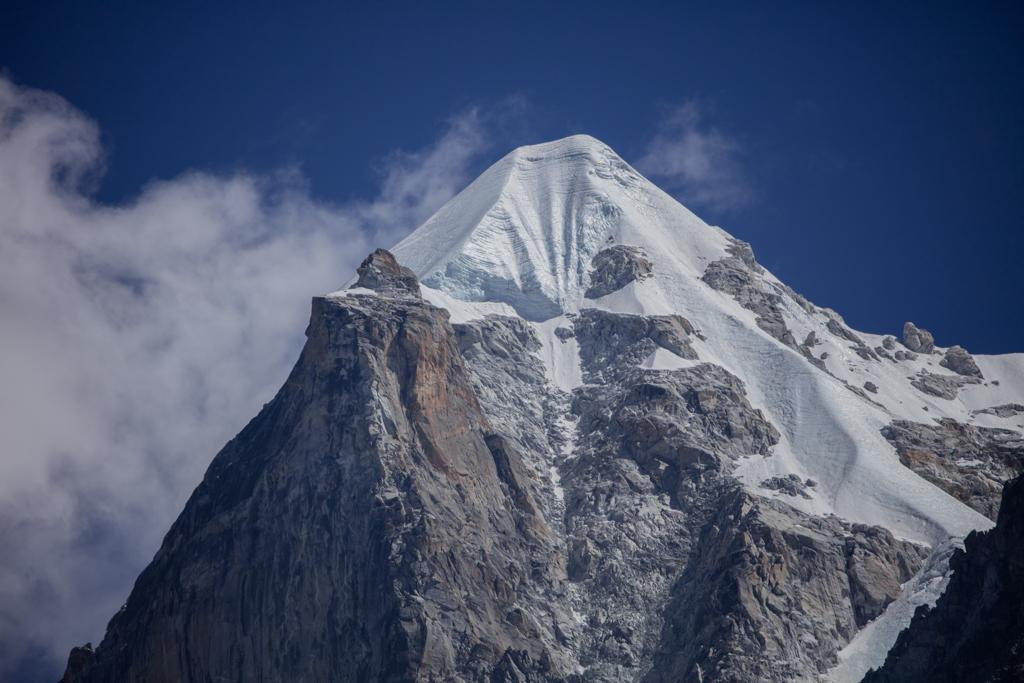 The summit of Kjajo Ri (6180m)