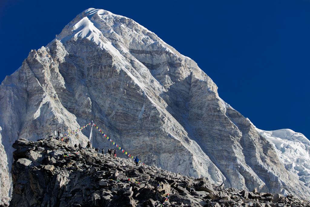 Impressive Pumo Ri (7165m)
