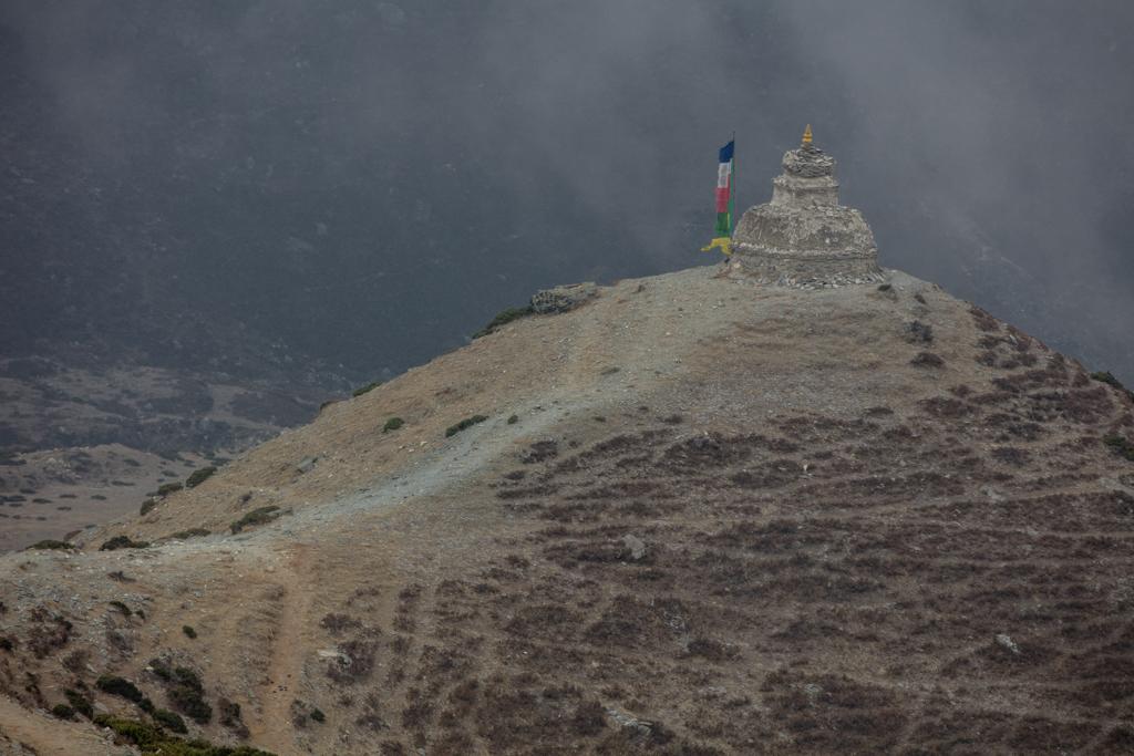 Gompa above Dingboche