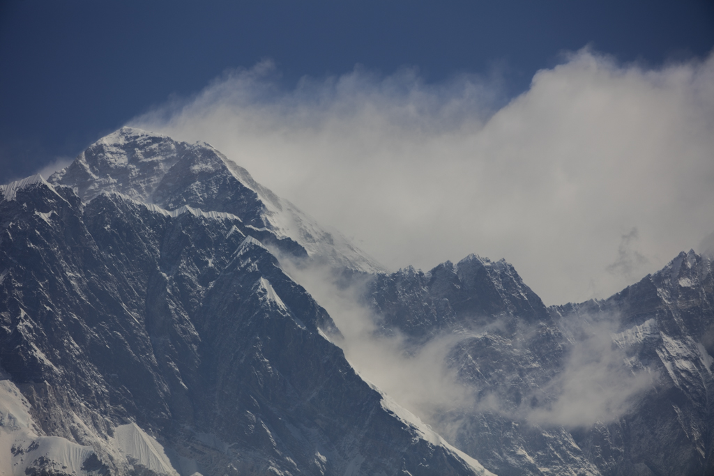 Everest seen from Tengboche