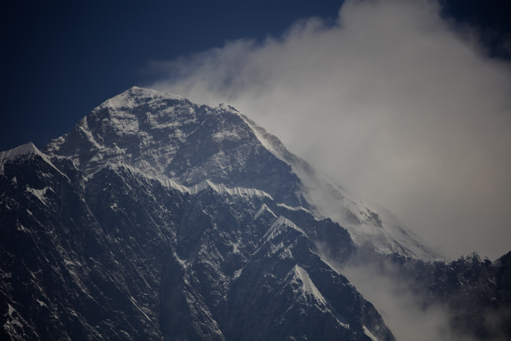 Summit of Everest with 560mm lens