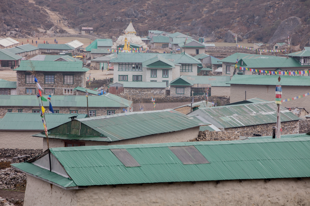 Green roofs of Khumjung