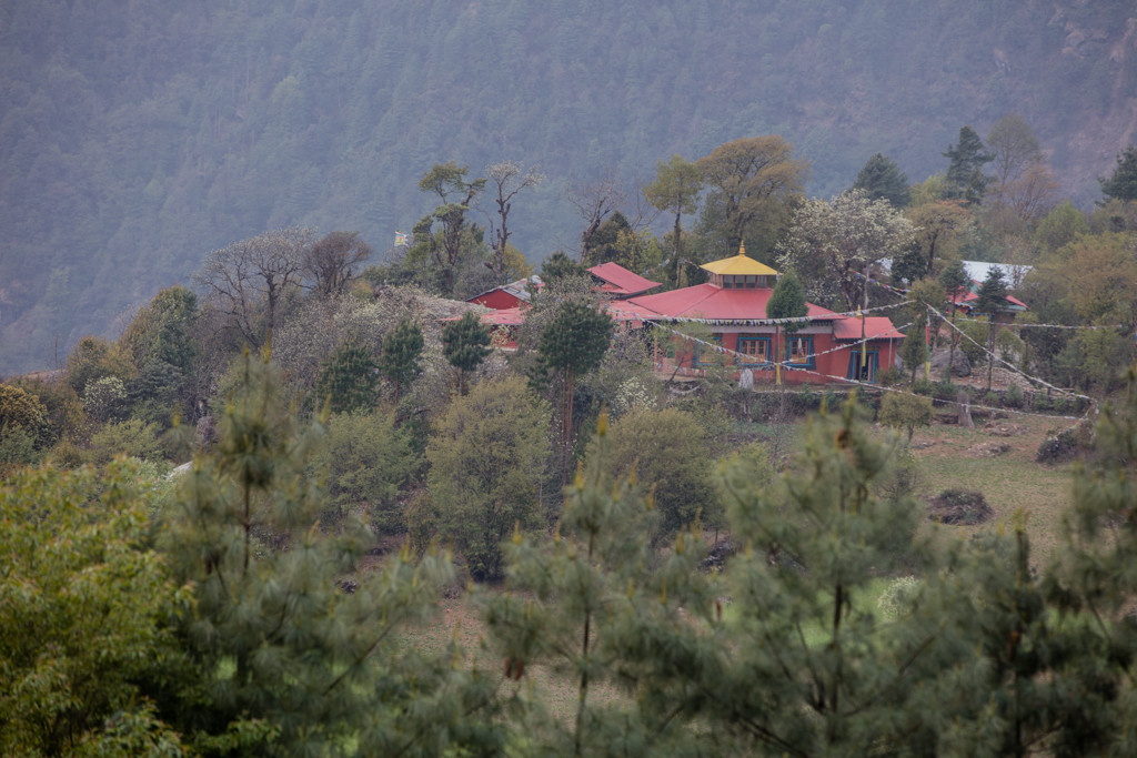 Monastery in Chaurikharka