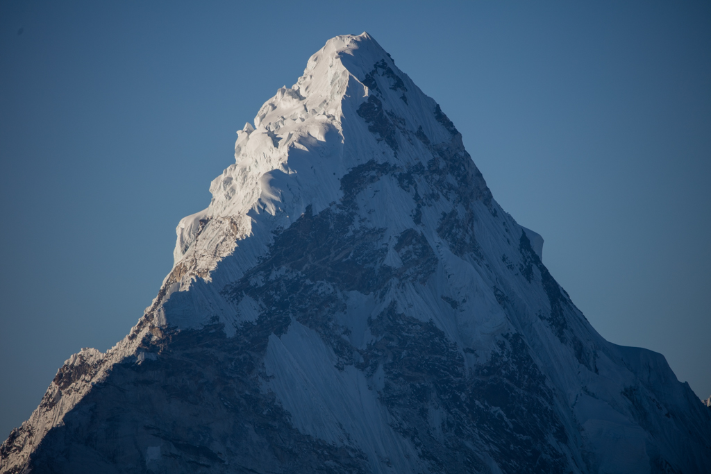 Ama Dablam in the morning sun