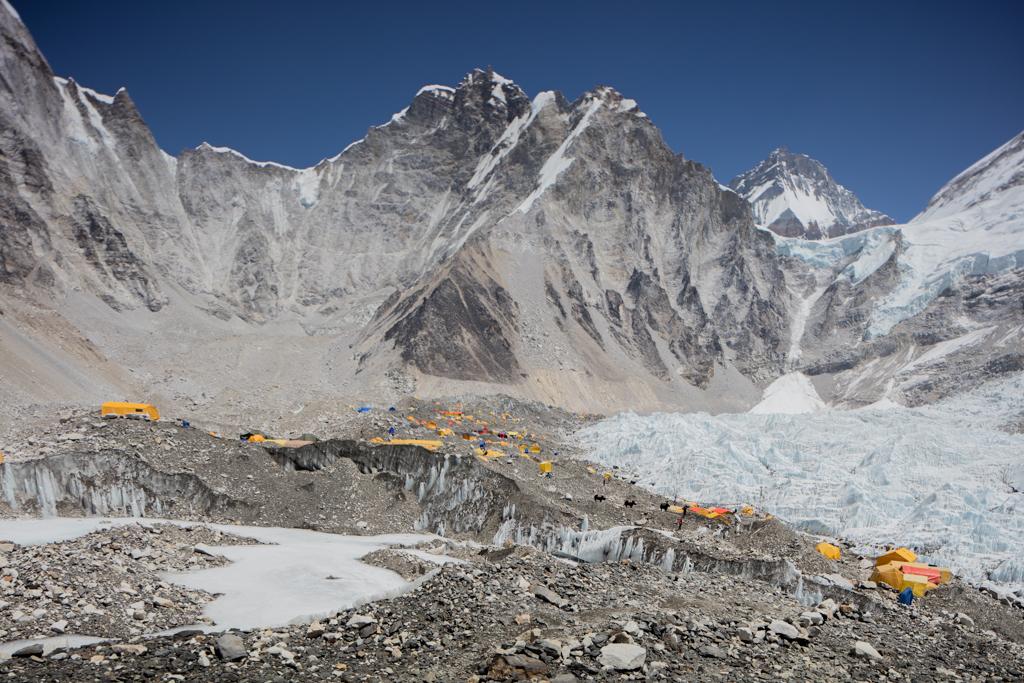 Everest Base Camp in 2016