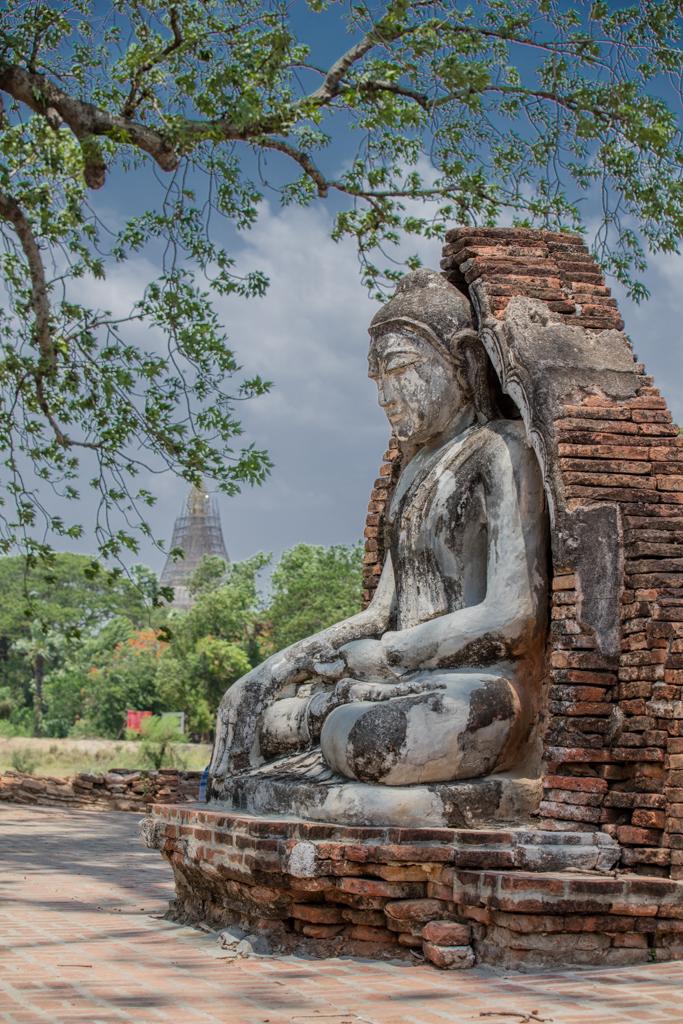 Buddha statue at Inwa