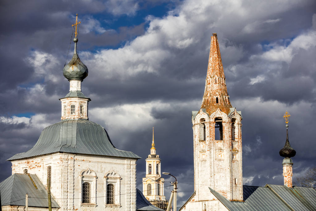 The Cathedral of Ascension and Prepodobenskaya bell tower