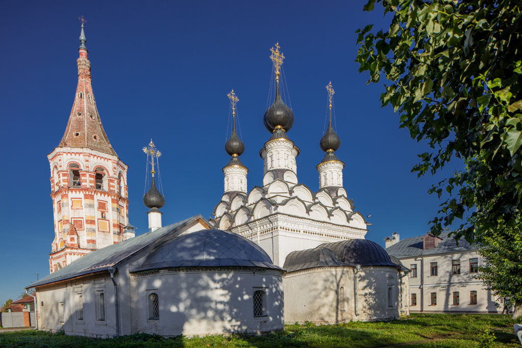 The churches of St. Lazarus and St. Antipas