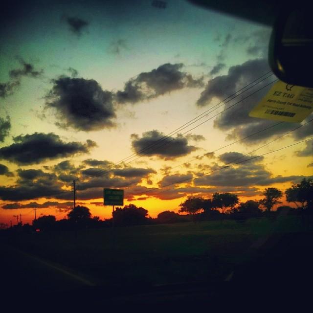 sunsetdriving
