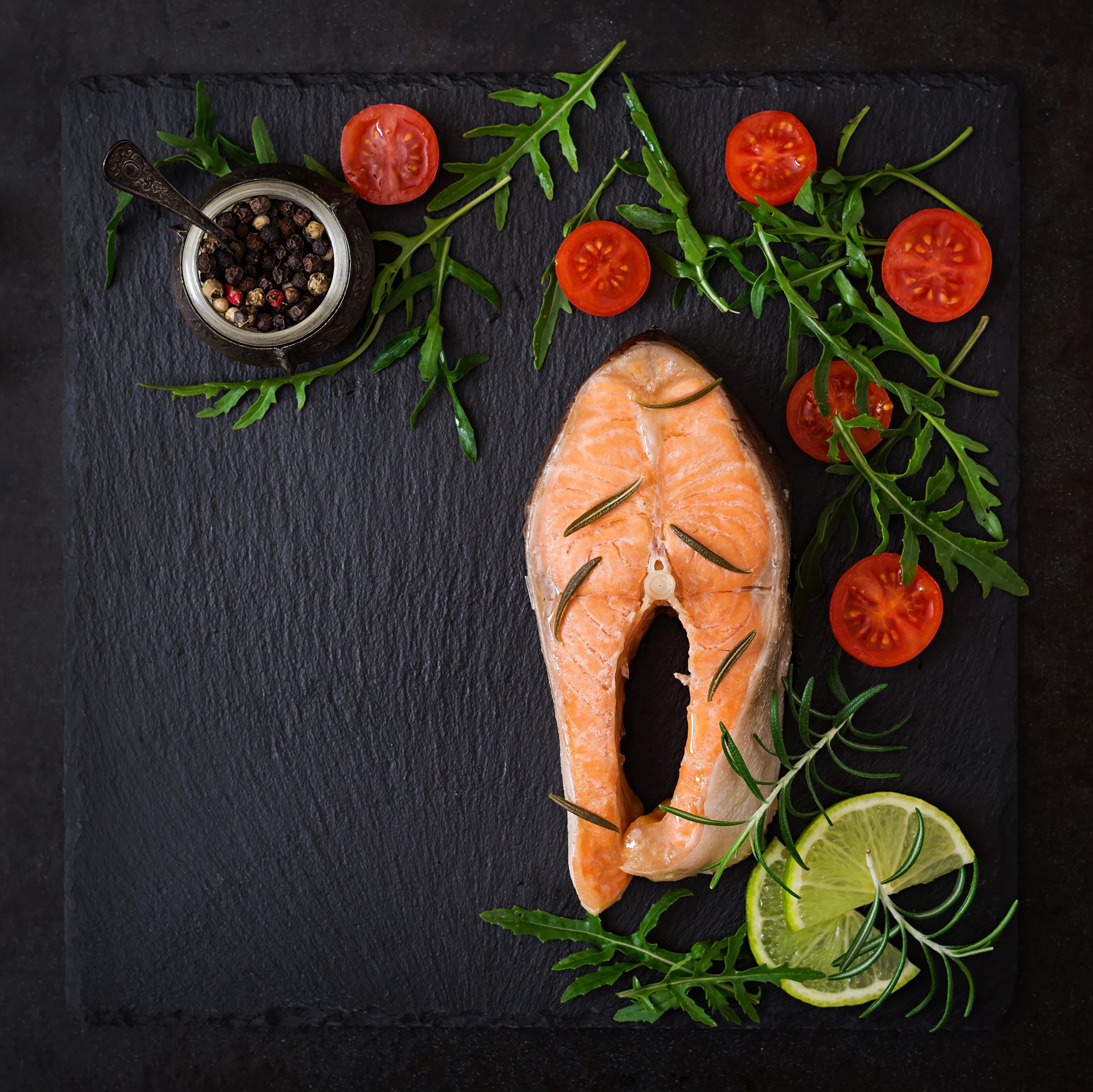cooked-on-steam-salmon-steak-with-vegetables-on-PJ7NUAN.jpg