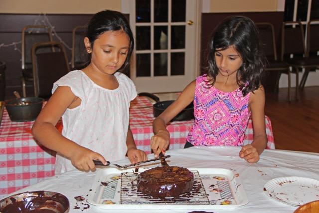 Making Sacher Torte