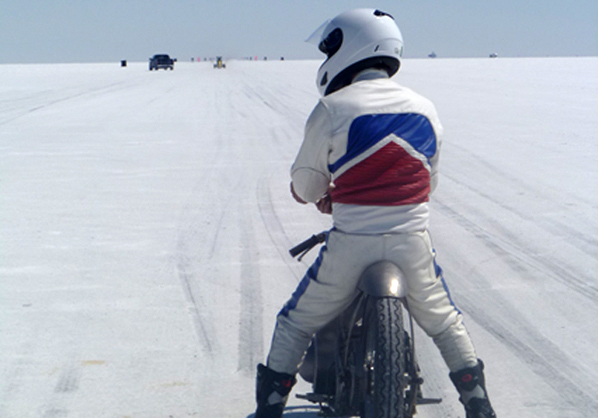 I will be heading back to Bonneville in 2015 with my newer, sleeker, faster Cushman to set a few land speed records!!