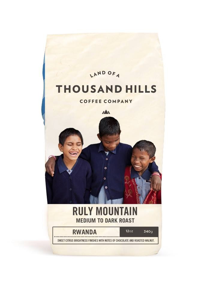 Drink up! Each bag of coffee feeds, educates or medically assists 100 children.