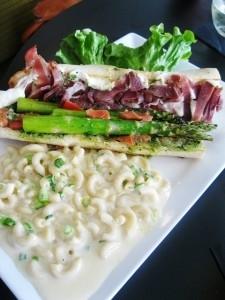 Asparagus Sandwich with Prosciutto