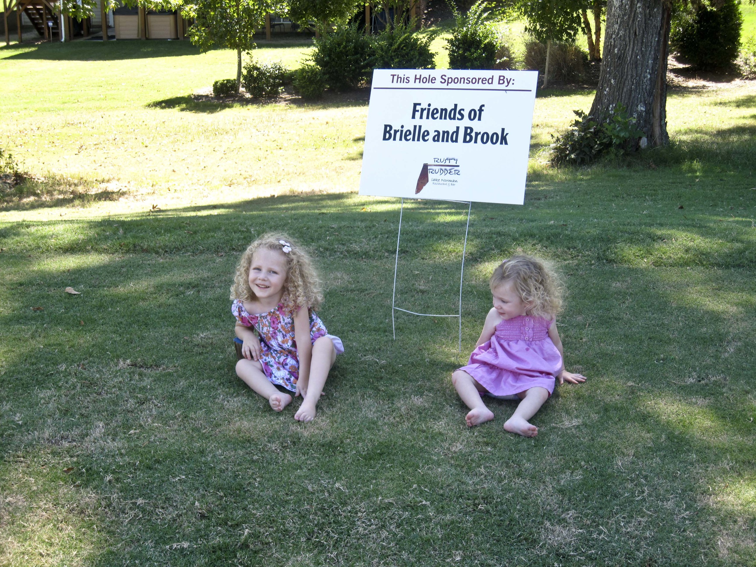 Complimentary sponsorship by Friends of Brielle & Brooke.