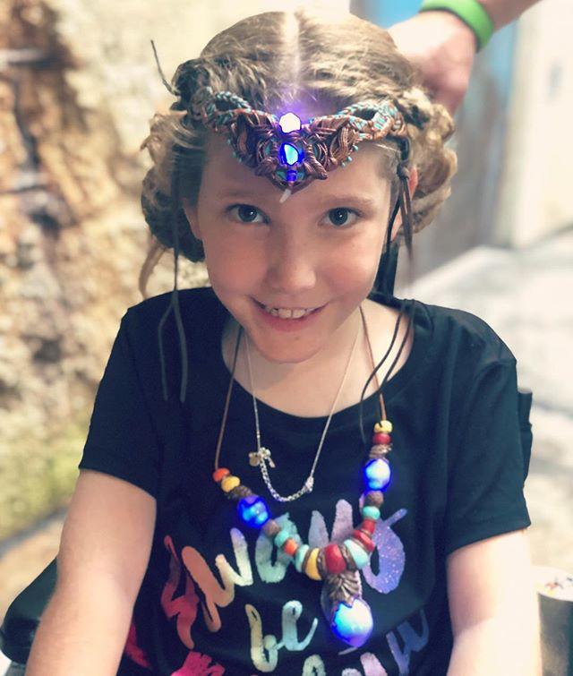 When in Pandora... you dress like a Na'vi.
