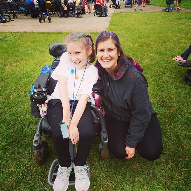 Brooke had the most amazing week at MDA Camp! She already can't wait for next year! Brielle didn't want to go this year but she's thinking maybe next year she might go too.  We'll see! (Stealing photos from Anna and Nikki.)