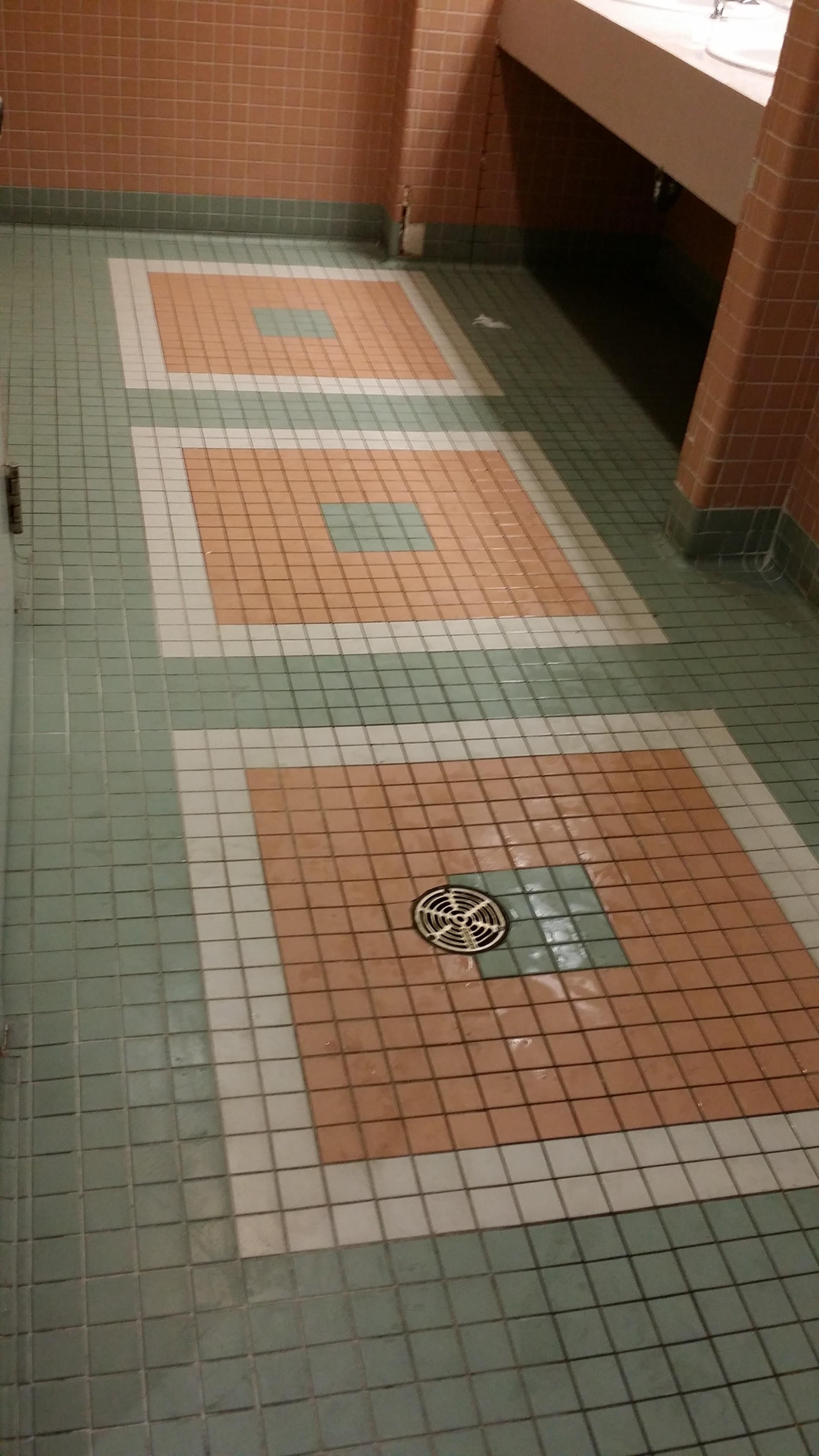 Existing Floor Tiles
