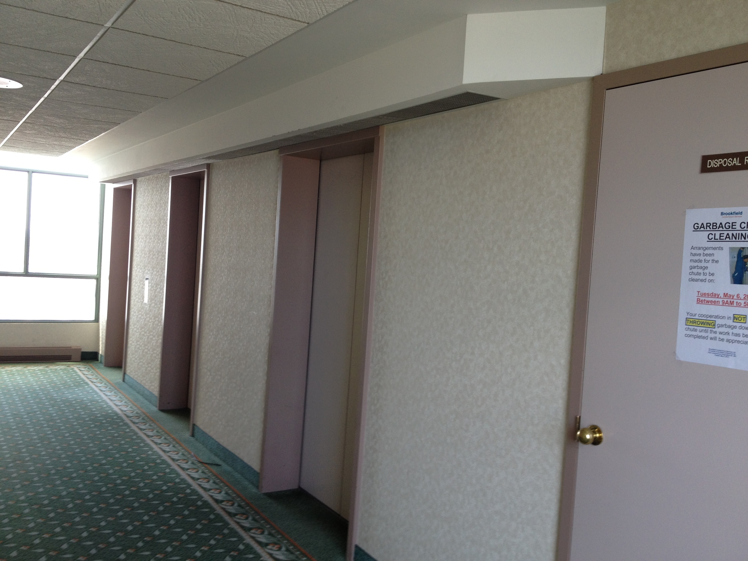Existing Elevator Lobby Side 2