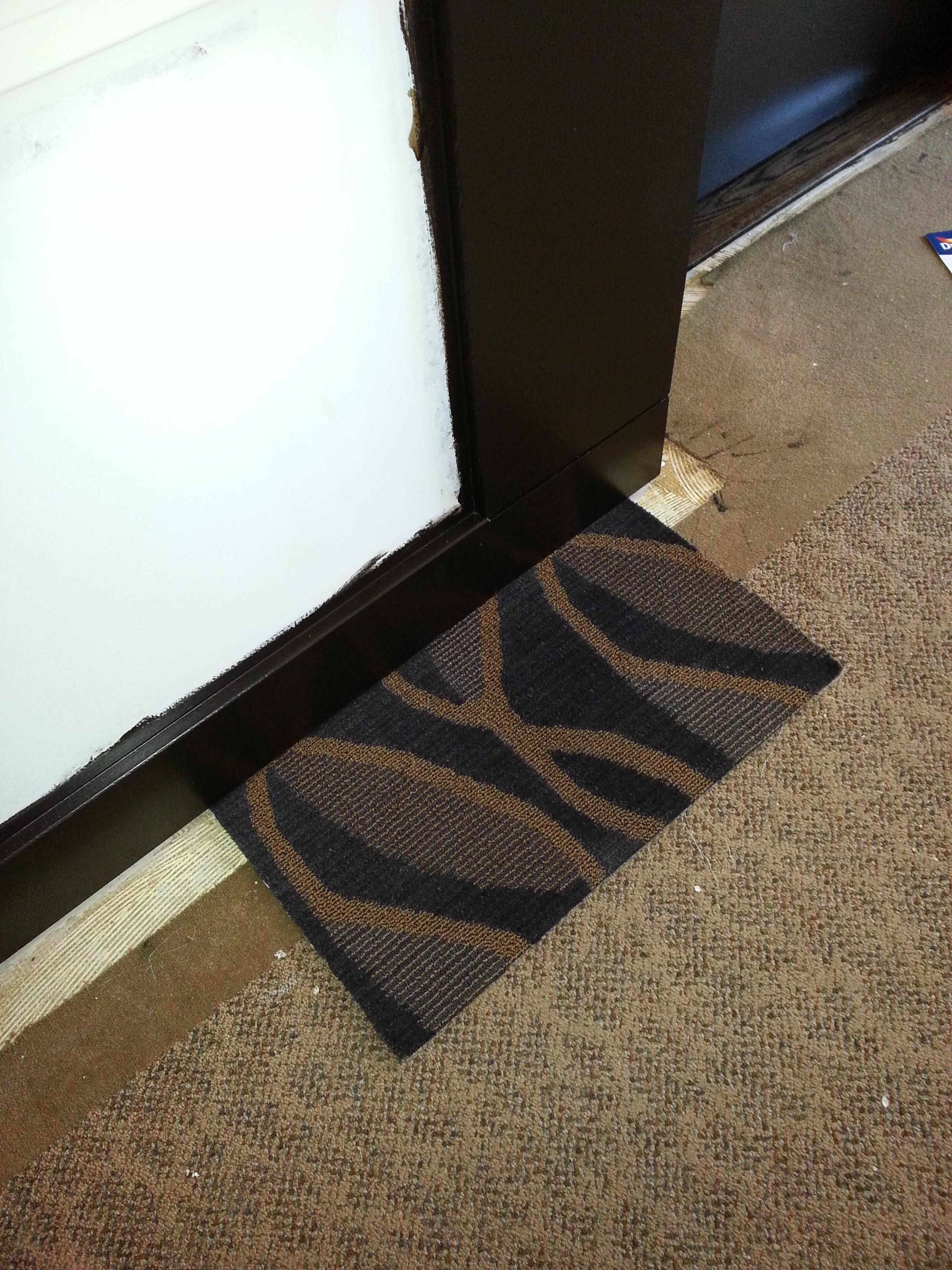 In Progress - Approved Carpet Sample