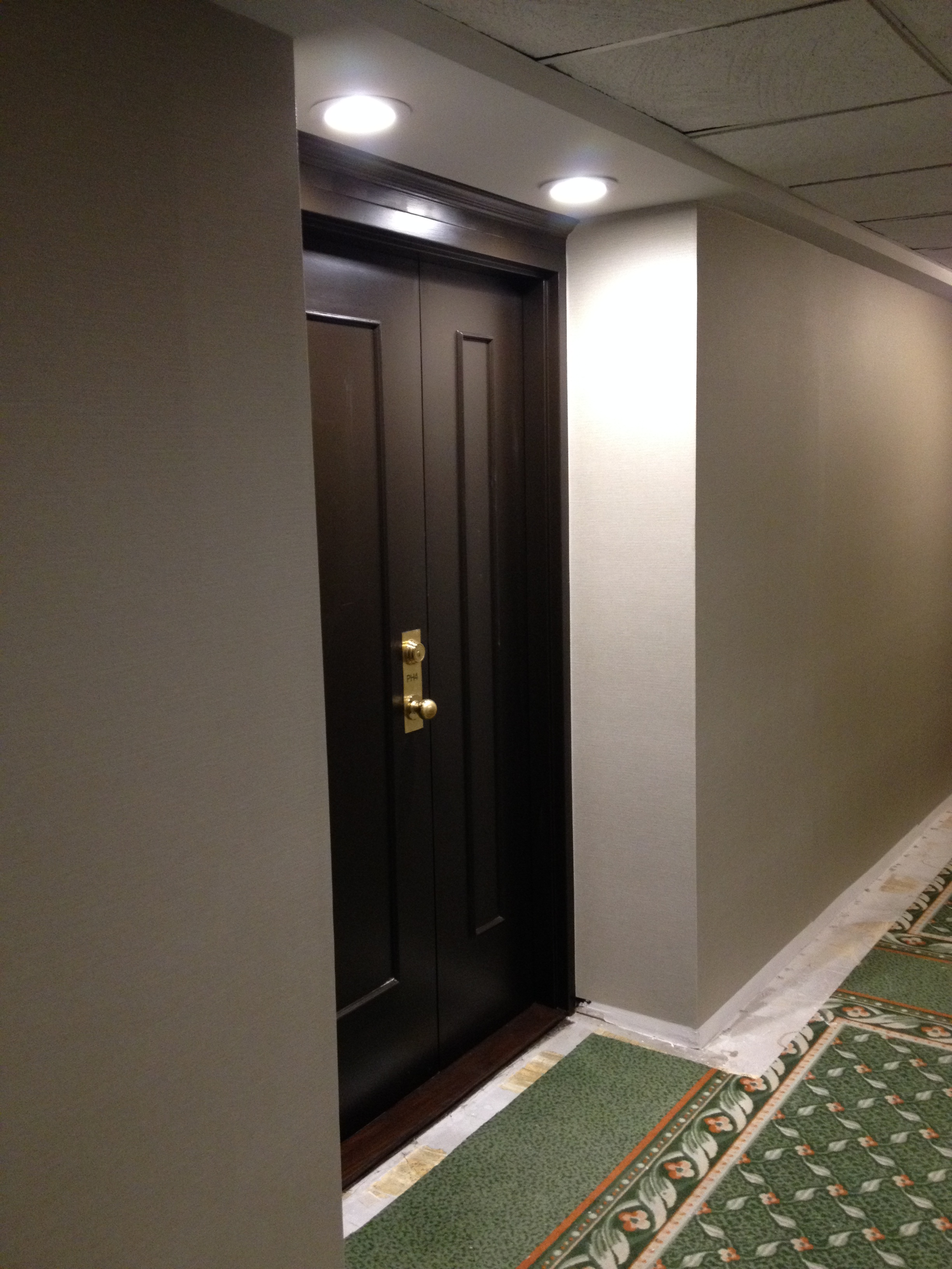New Penthouse Suite Entry and Wall Vinyl